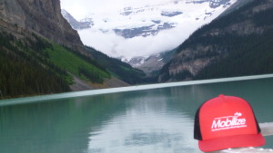 Mobilize in the Canadian Rockies