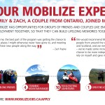 Our Mobilize experience by the numbers – from Emily and Zack