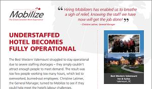 Mobilize case study - Best Western Valemount