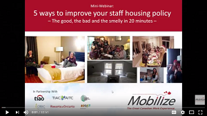 housing policy webinar recording