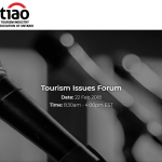 TIAO Tourism Issues Forum | Benjamin Guth speaking on February 22, 2018