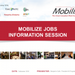 Mobilize Presentation - Mobilize Jobs Information Session (Sept 2018)