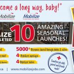 Mobilize celebrates 10 seasonal launches