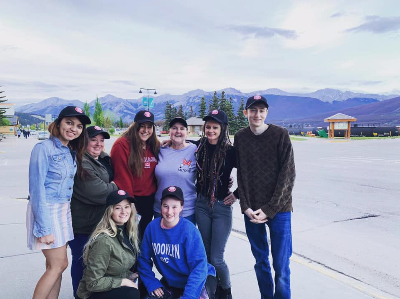 These Mobilizers are making new friends and memories of a lifetime on their Rocky Mountain jobs in Alberta